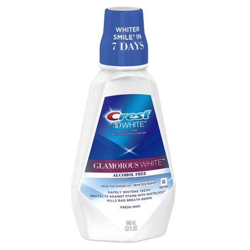 Вода за уста Crest 3D Glamorous White 946ml