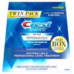 Двоен пакет избелващи ленти Crest 3D White Professional effects