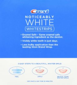 Избелващи ленти Crest 3D White Noticeably White Teeth Whitening Kit