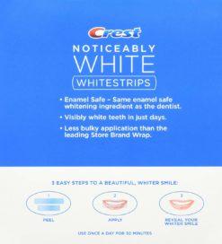 Избелващи ленти Crest 3D White Noticeably White Teeth Whitening Kit