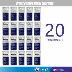 Избелващи ленти Crest Professional Supreme - 20 пакетчета